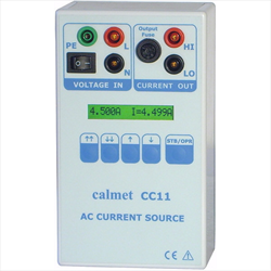 Single phase AC current source CC11 Calmet