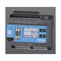 Power quality analysers for DIN rails UMG 605-PRO Janitza