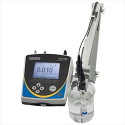 Benchtop Meter with pH Electrode, Software WD-35421-00 Ion 2700 Oakton