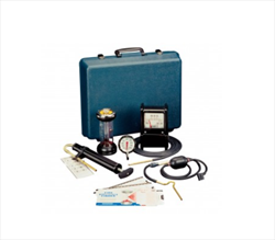 A variety of tools for combustion testing Mechanical Oil/Gas Testing Kits Bacharach