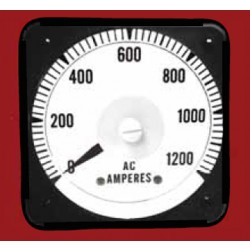 AC Ammeter,0-5ACA/0-50A LS-110-50ACT Hoyt Electrical Instrument