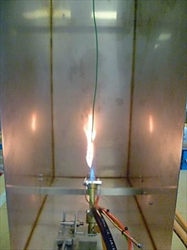Flame Propagation Test for a Single Insulated Cable FTT