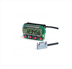 Battery powered LCD display with magnetic sensor for OEM applications LD111 Lika Electronic